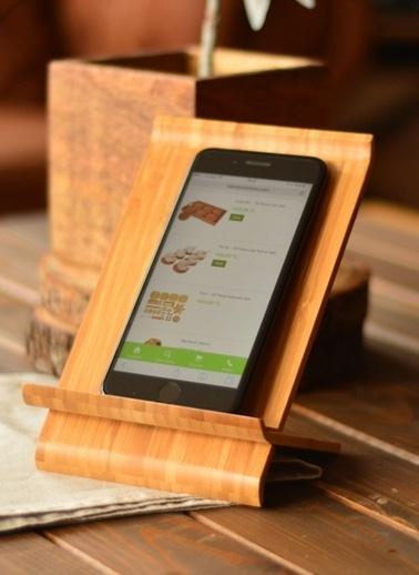 Stevie - Tablet&Telefon Standı-Bambum